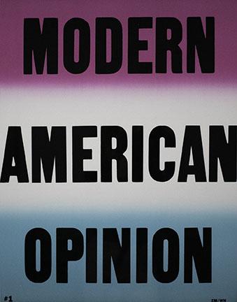 Cali deWitt, Modern American Opinion, 2013
