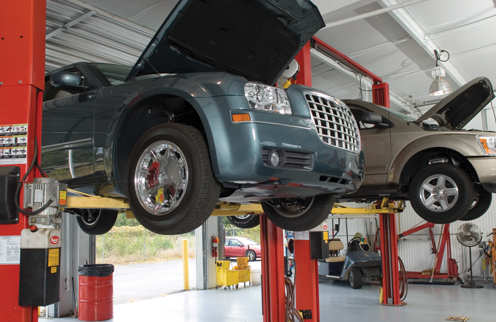 Alignment repair at Bear Frame & Alignment Services, Inc. Kearney, NE