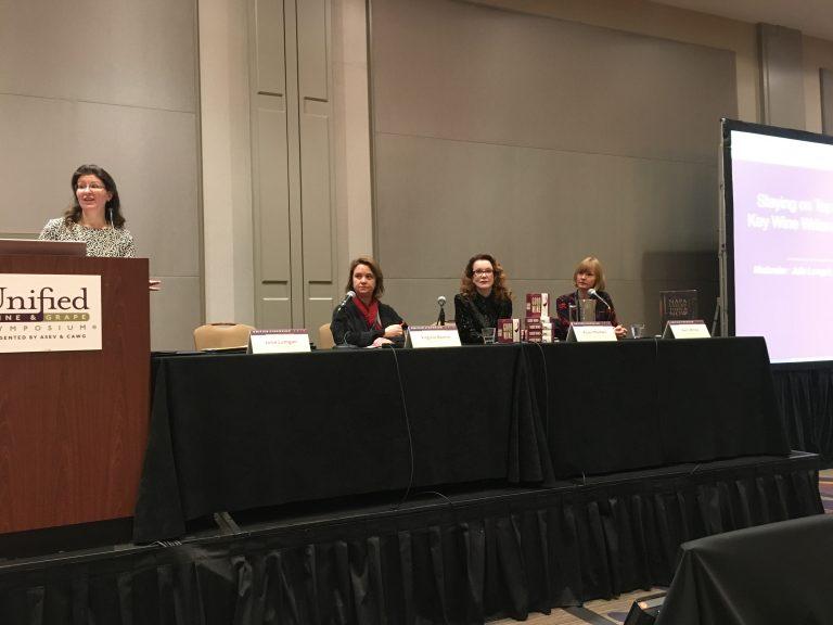 From left to right: Julie Lumgair, Virginie Boone, Karen MacNeil, Kelli White
