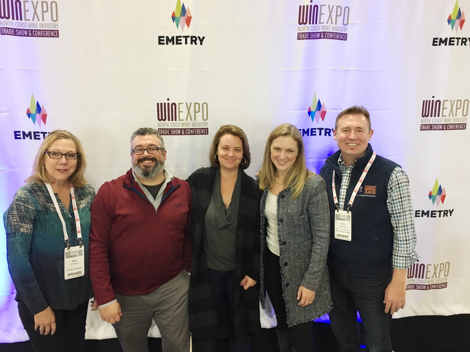 Panel (from left to right): Sara Schneider, Michael Wangbickler, Virginie Boone, Katie Calhoun, and Chris O'Gorman