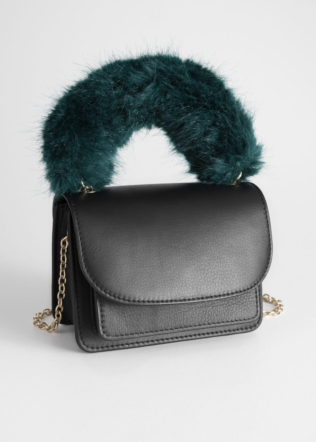 Faux Fur bag - & other stories