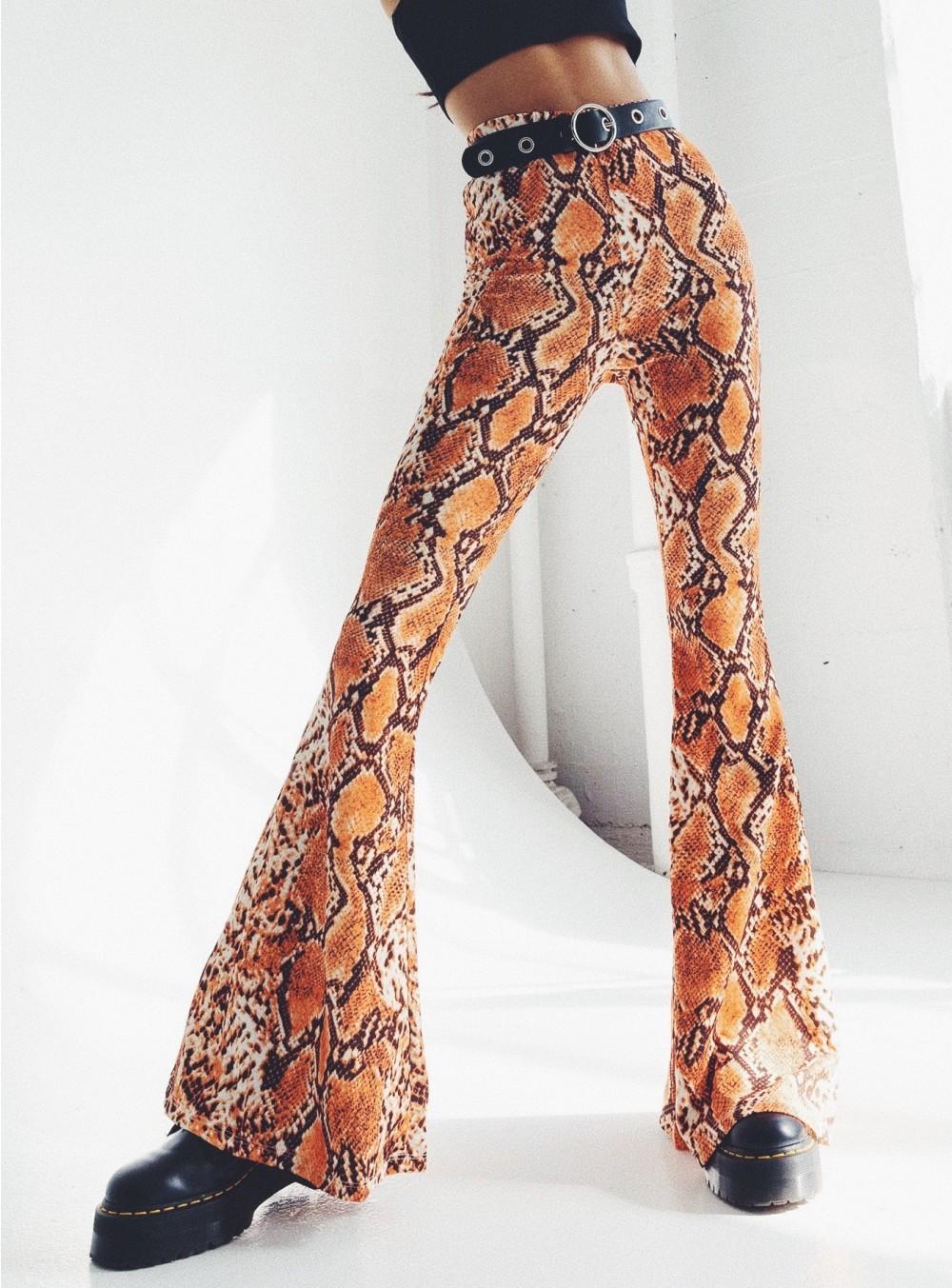 Snakeskin Pants