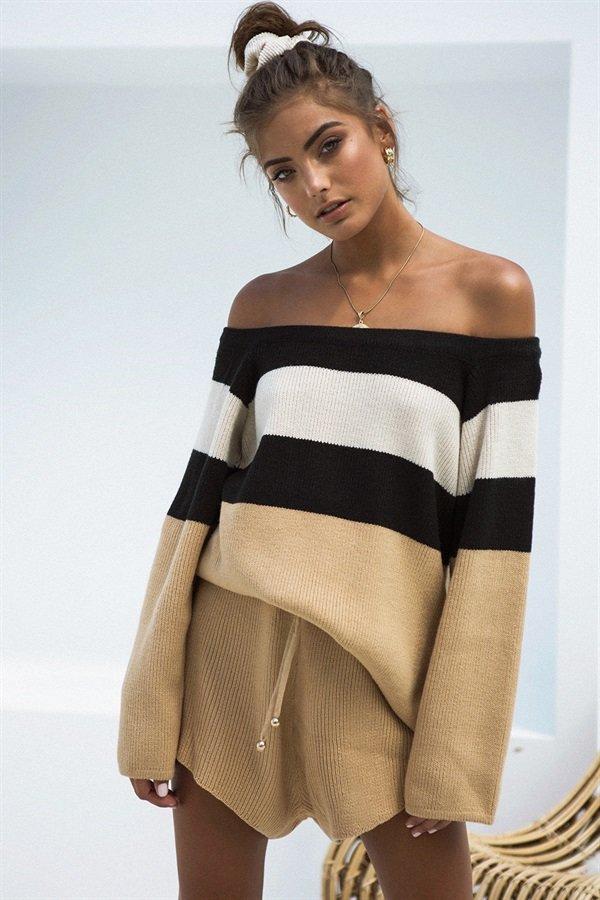 Comfy knit top