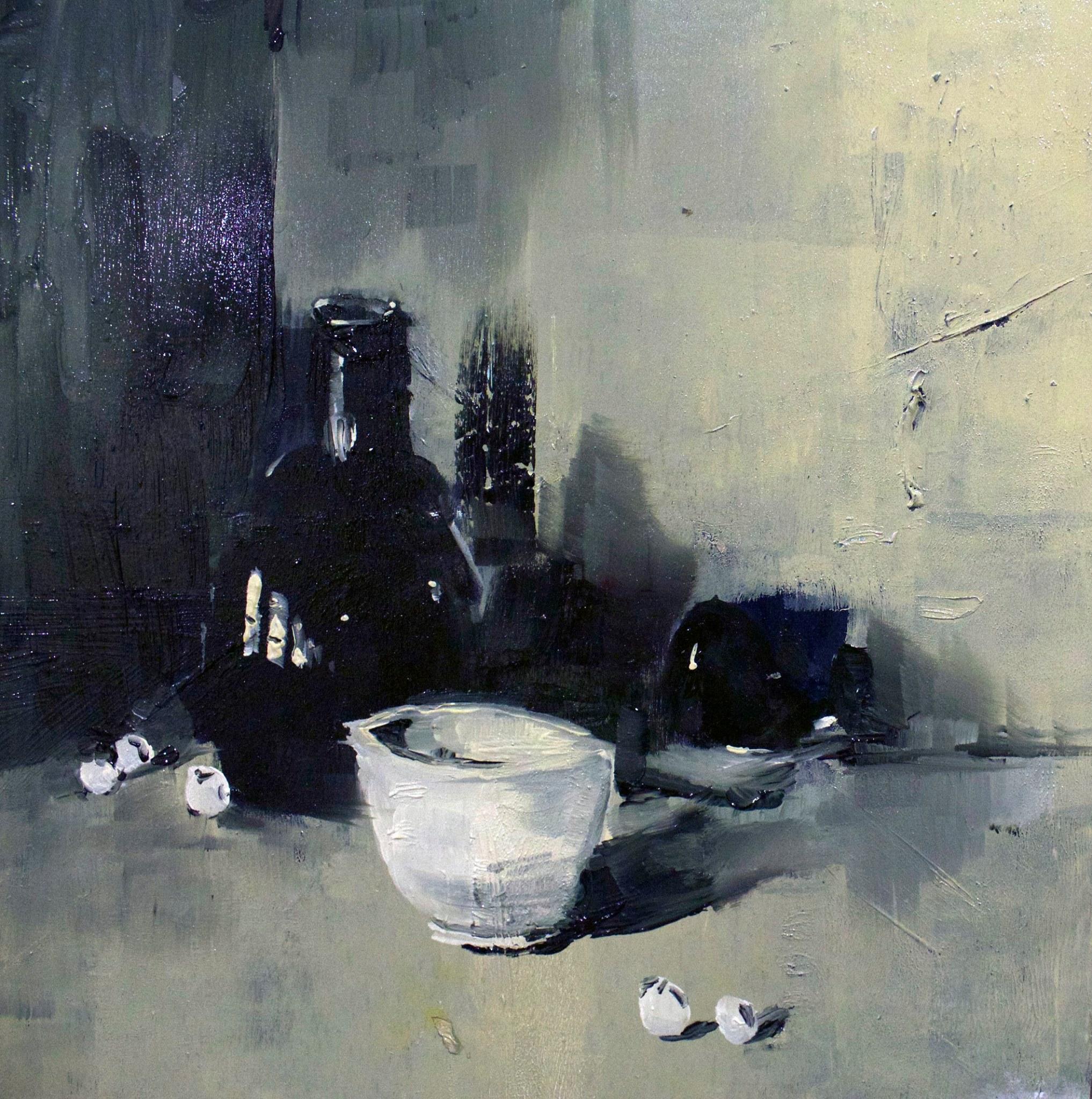 Still life study #04, Oil on panel 07 Nov 2016