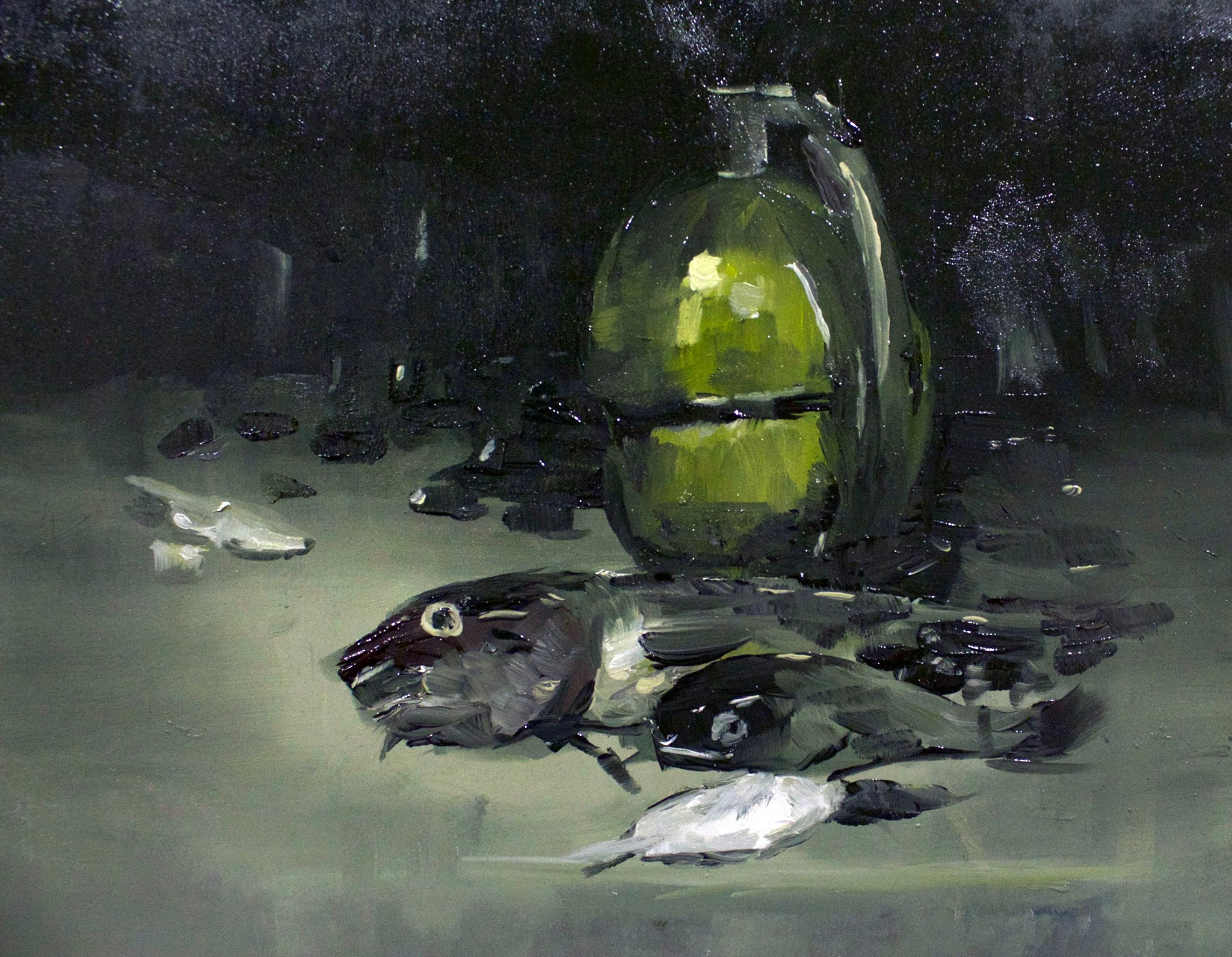 Still life study #05, Oil on panel 08 Nov 2016