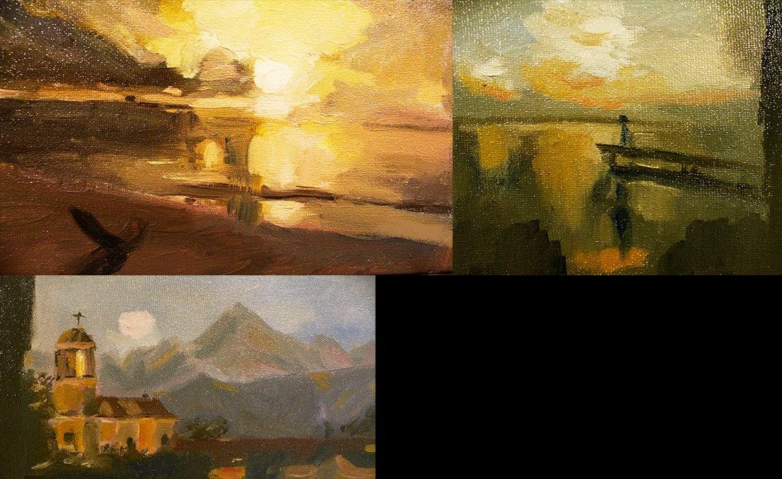 - Landscape studiesOil on canvas10 Oct 2016