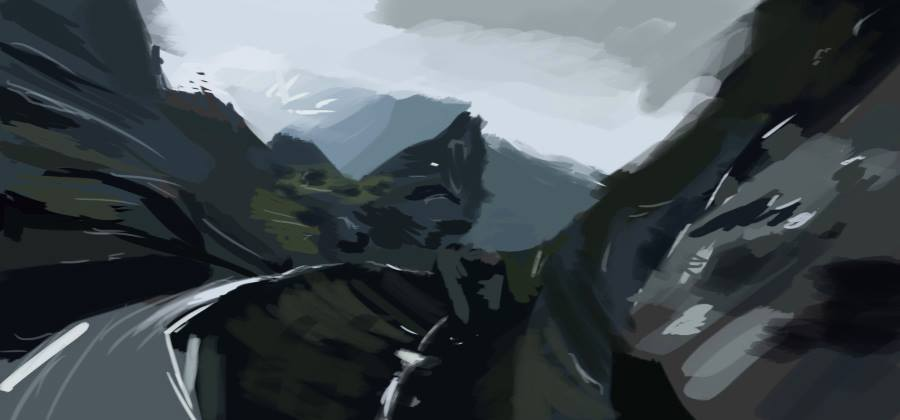 Alps Virtual Plein Air #07