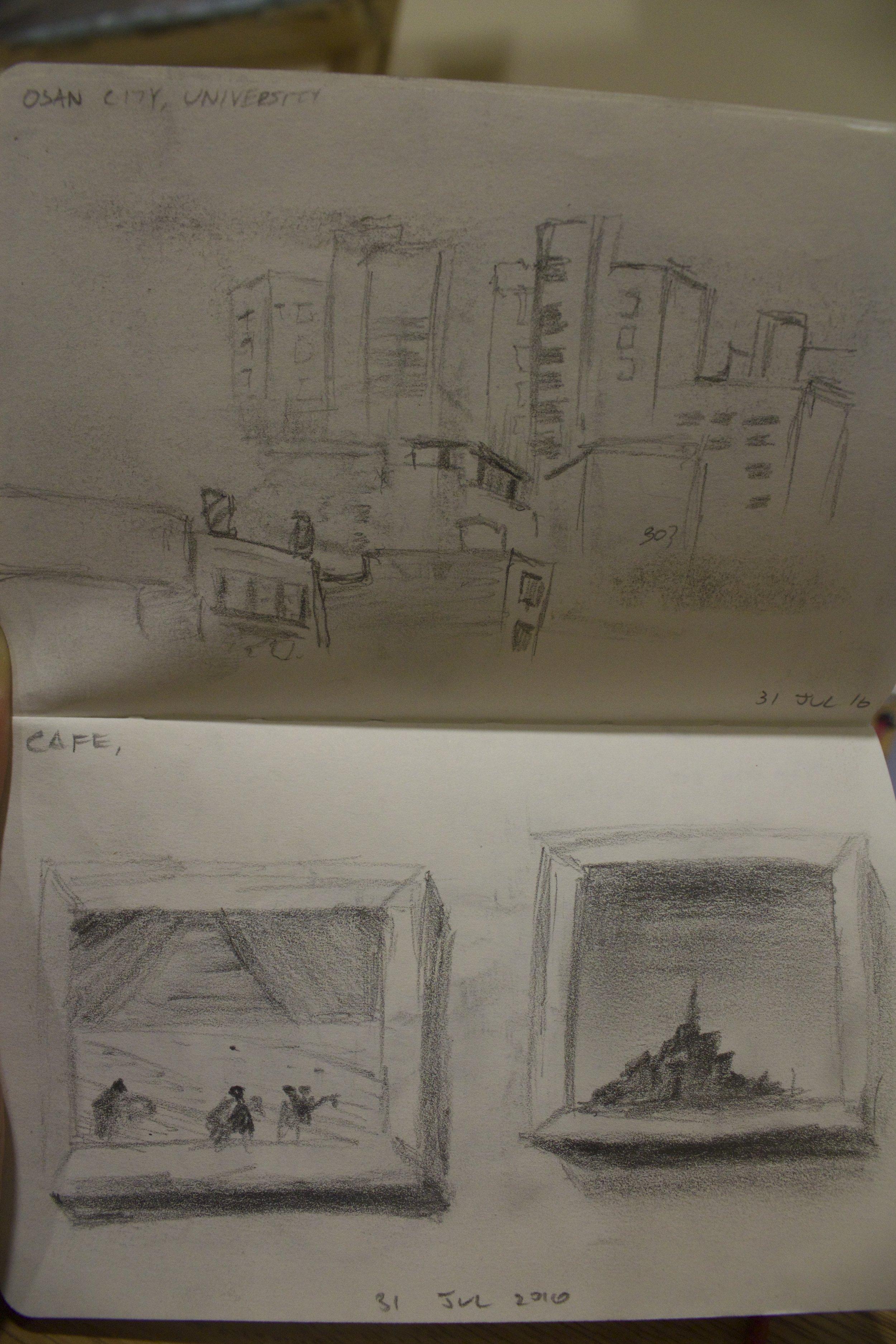 South Korea Cafe Shop