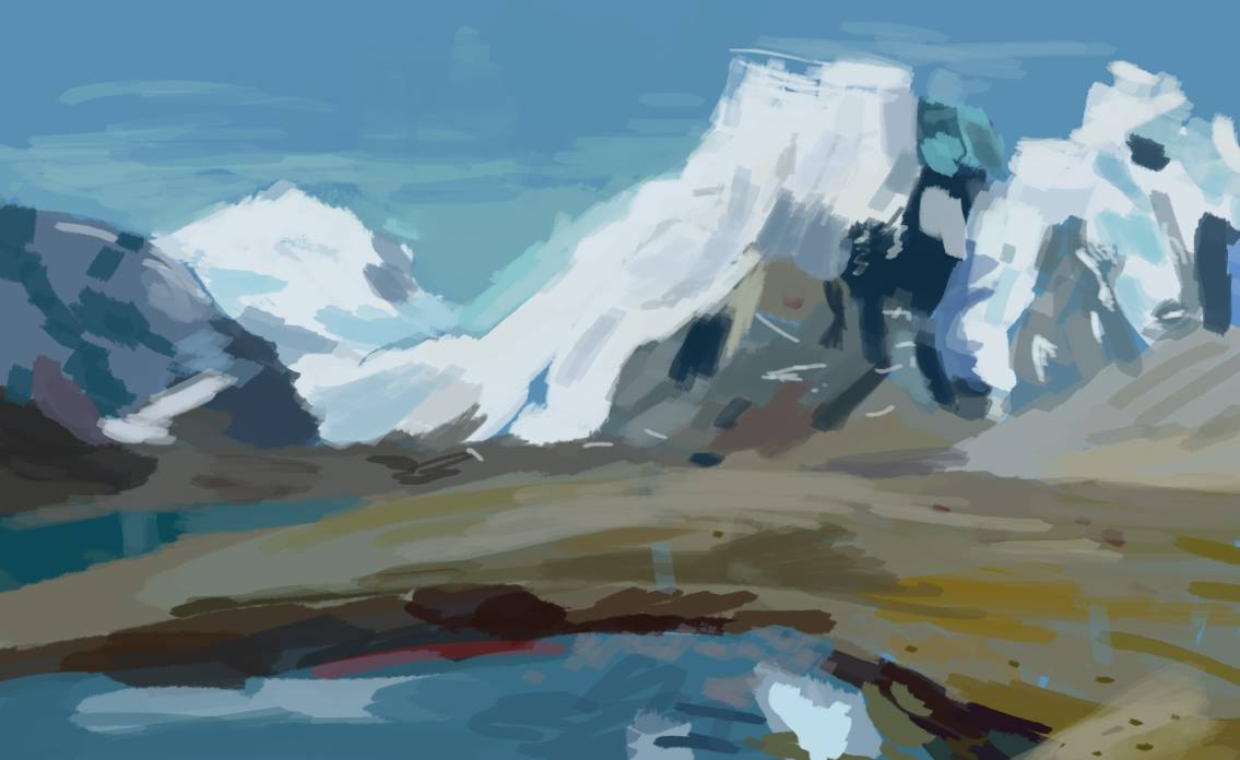 Nature study %0AOn digital, quick paint%0A11 Mar 2016.jpg