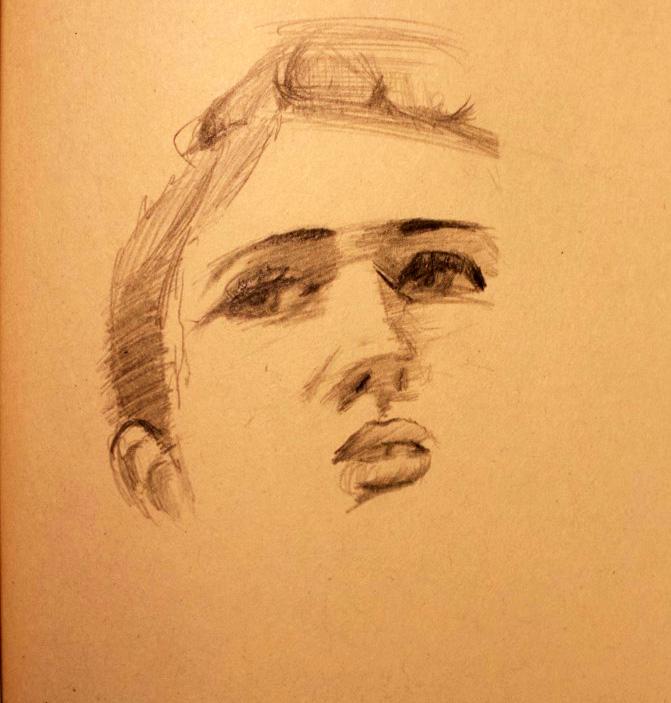 Portrait Drawing - JDAlfonso