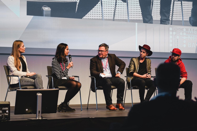 Mobile Media Day 2018: Meliz Kaya von Social Melon beim Influencer Talk