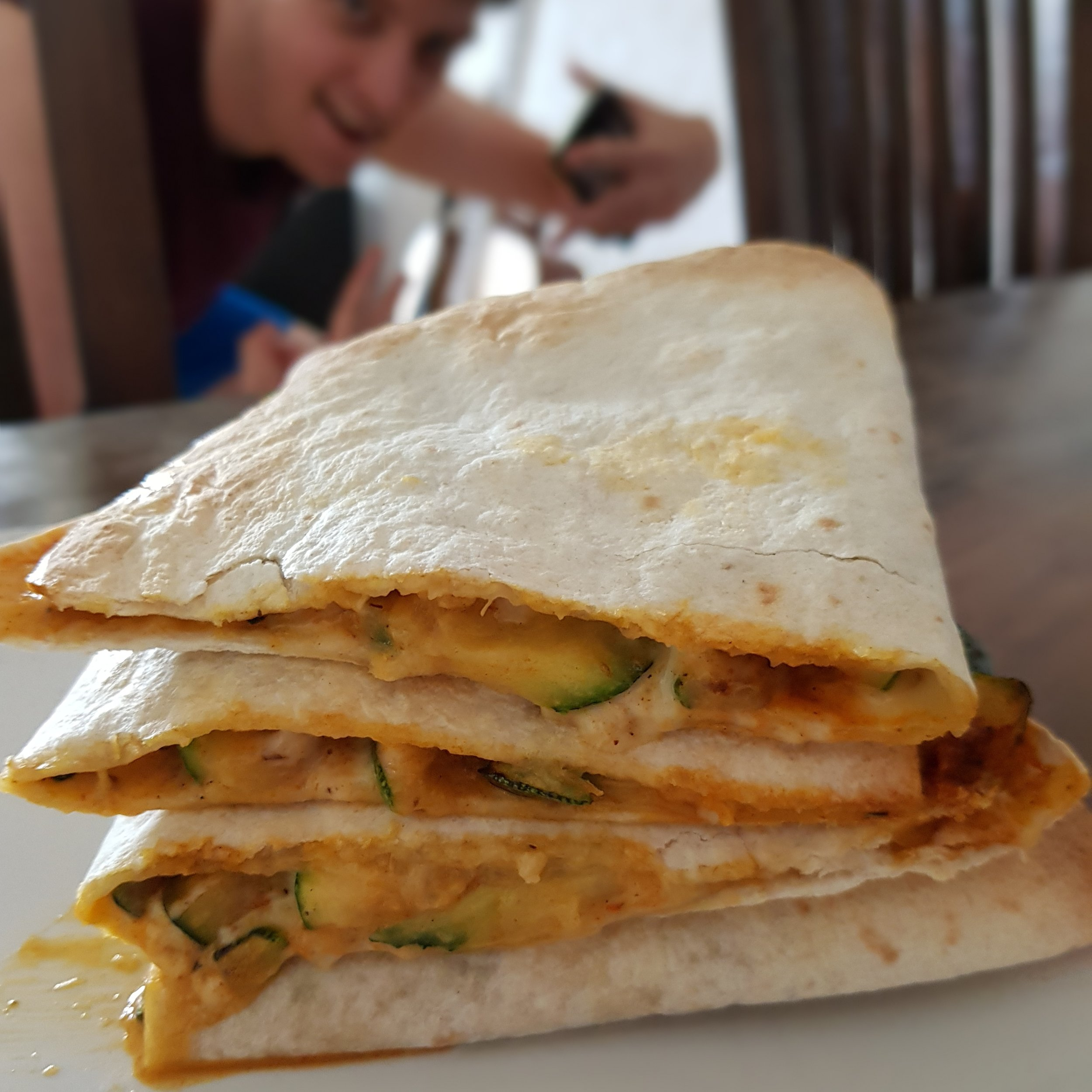 Left Over Quesadillas -