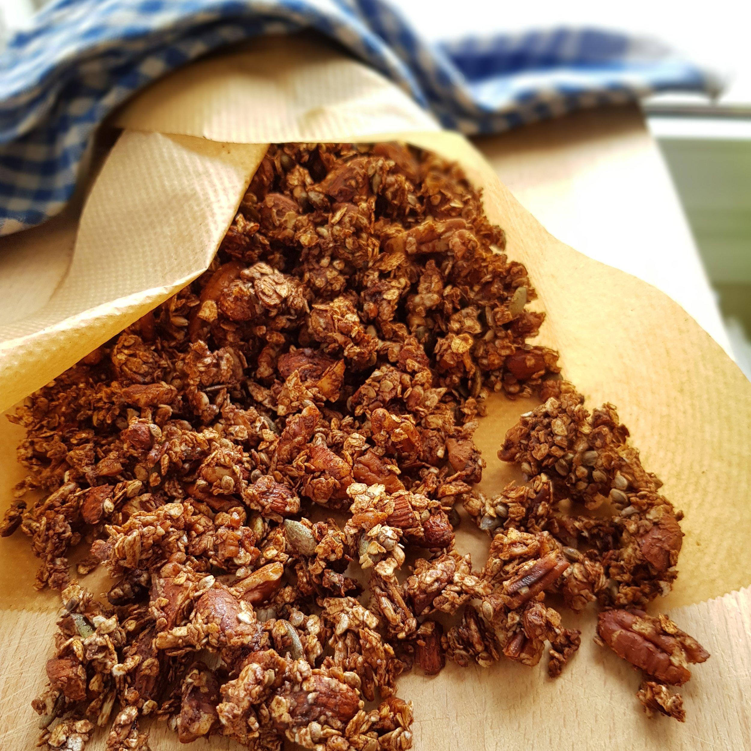 High Protein Granola -