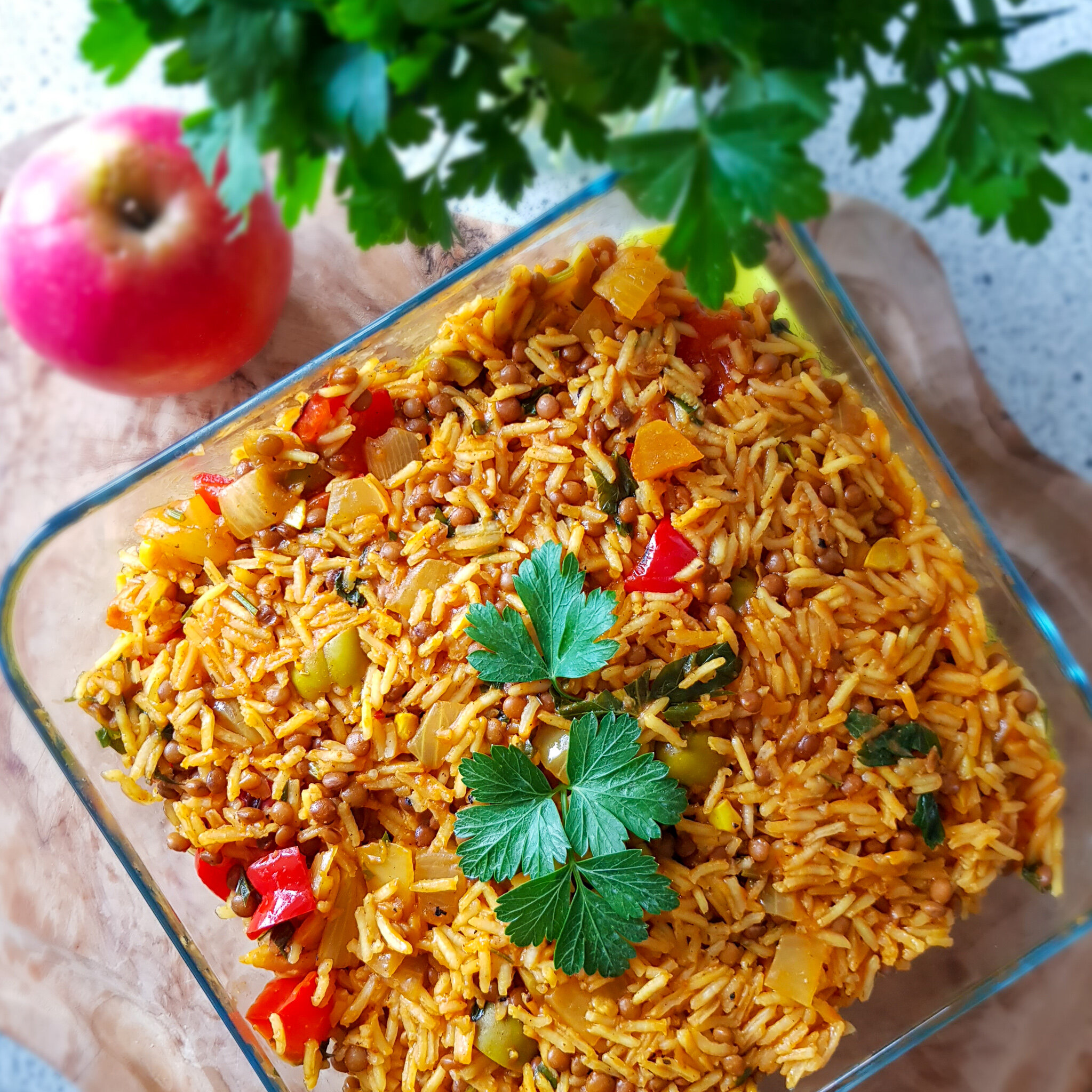 High Protein Plantbased Rice -