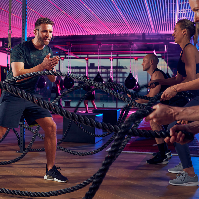 - PEOPLE'S PLACE GYM– THE GYM –