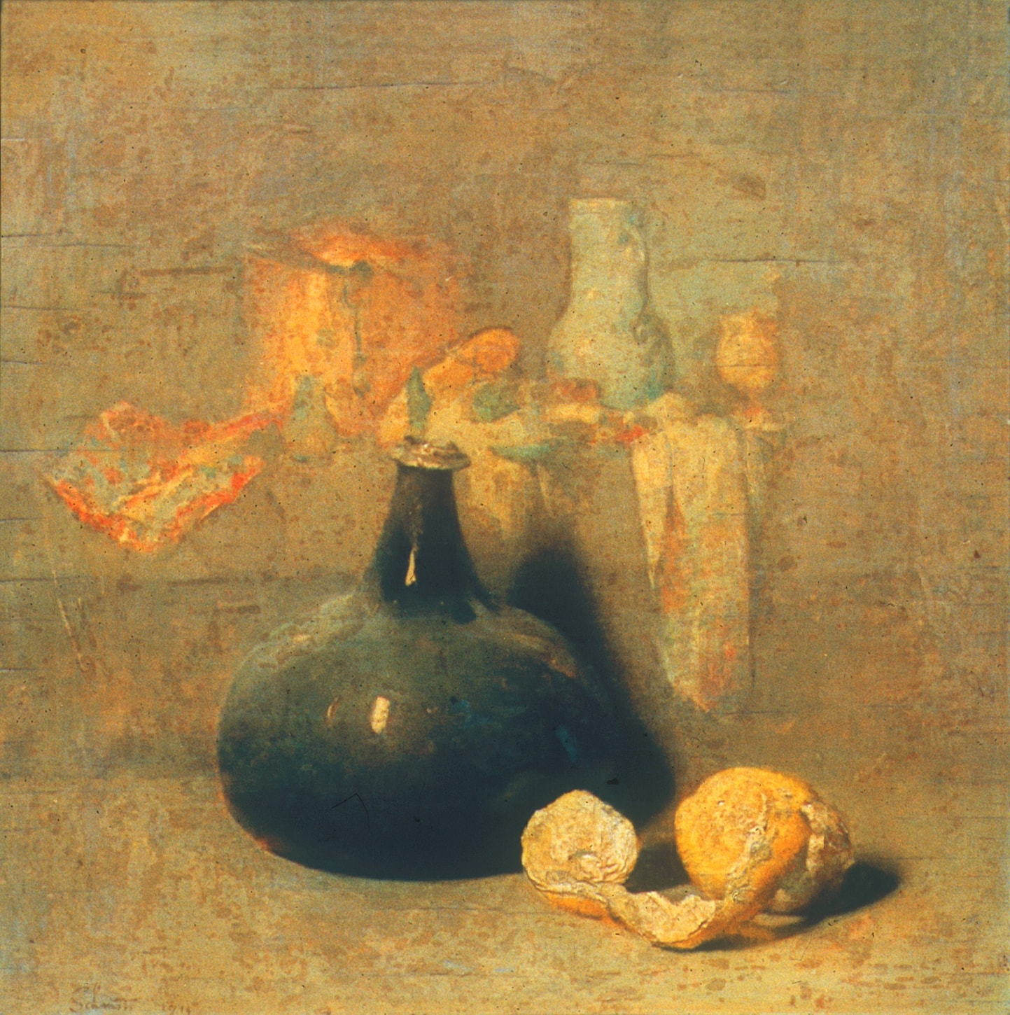 Still Life with Oranges, Oil on canvas, 1914
