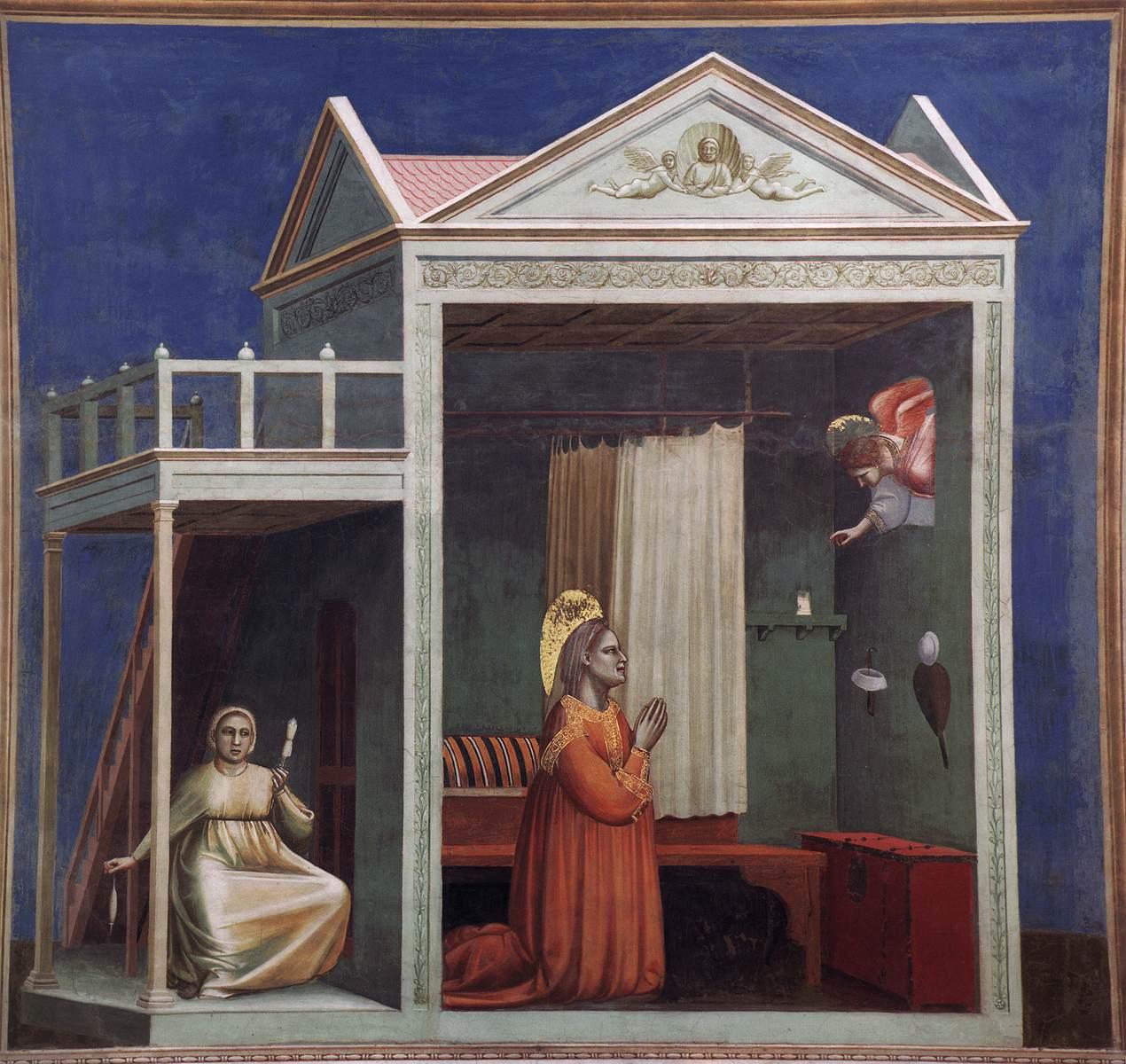 Giotto, Annunciation to Saint Anne, 1304-06