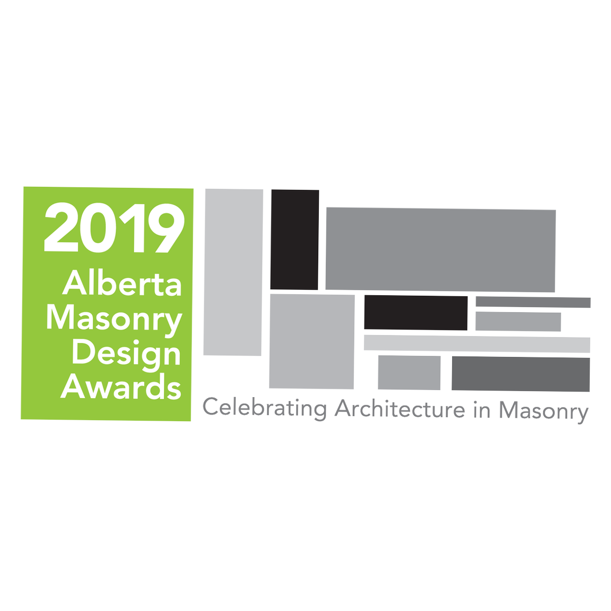Alberta Masonry Design Awards - April 2019  Recipients of awards in three categories: ' AMC Presidential Award', 'Award of Merit', 'Honorable Mention'