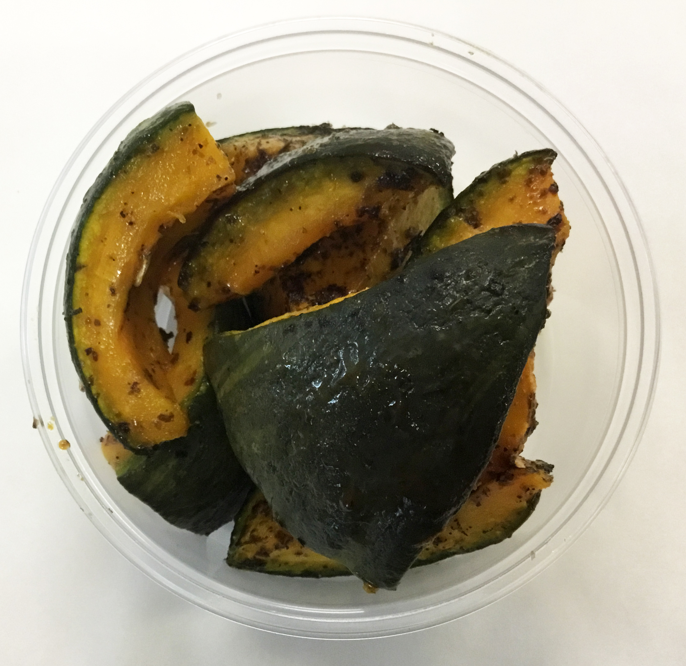 roasted kabocha and basil