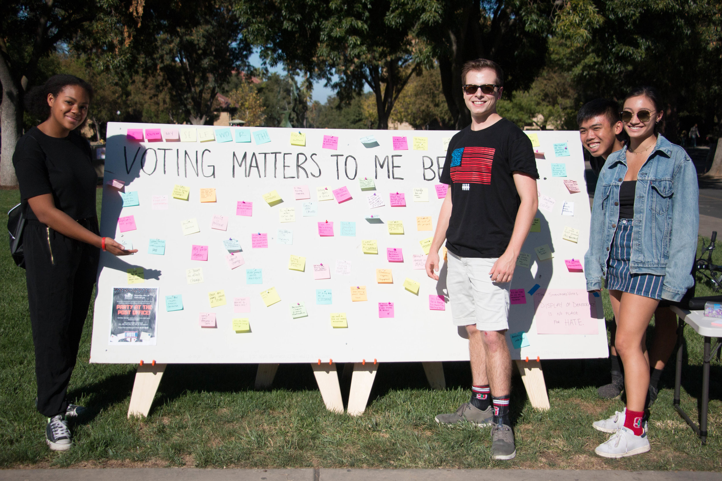StanfordStudentsWithWhyVotingMattersSign.jpg