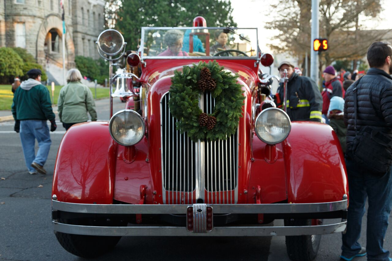 Flip the script on holiday travel, crowds and lines for a festive community celebration.