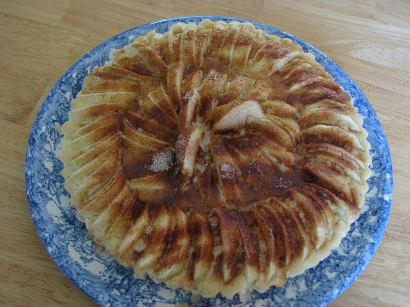 20101017_Harvest apple tart
