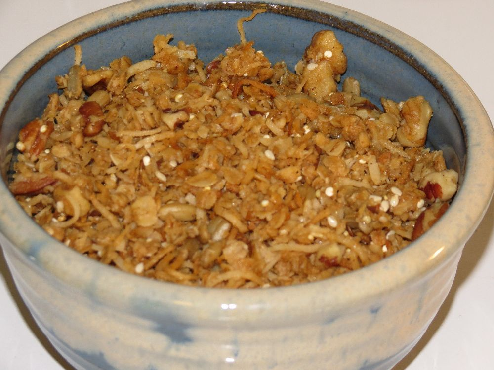Jan's homemade granola