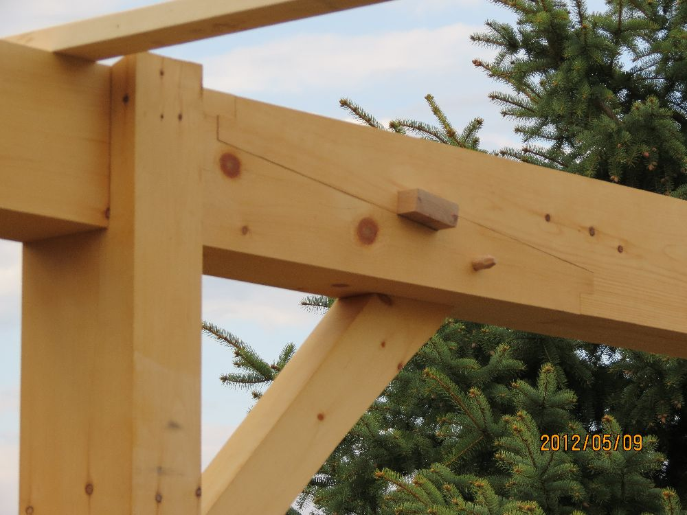 120509_beautiful timber frame joinery