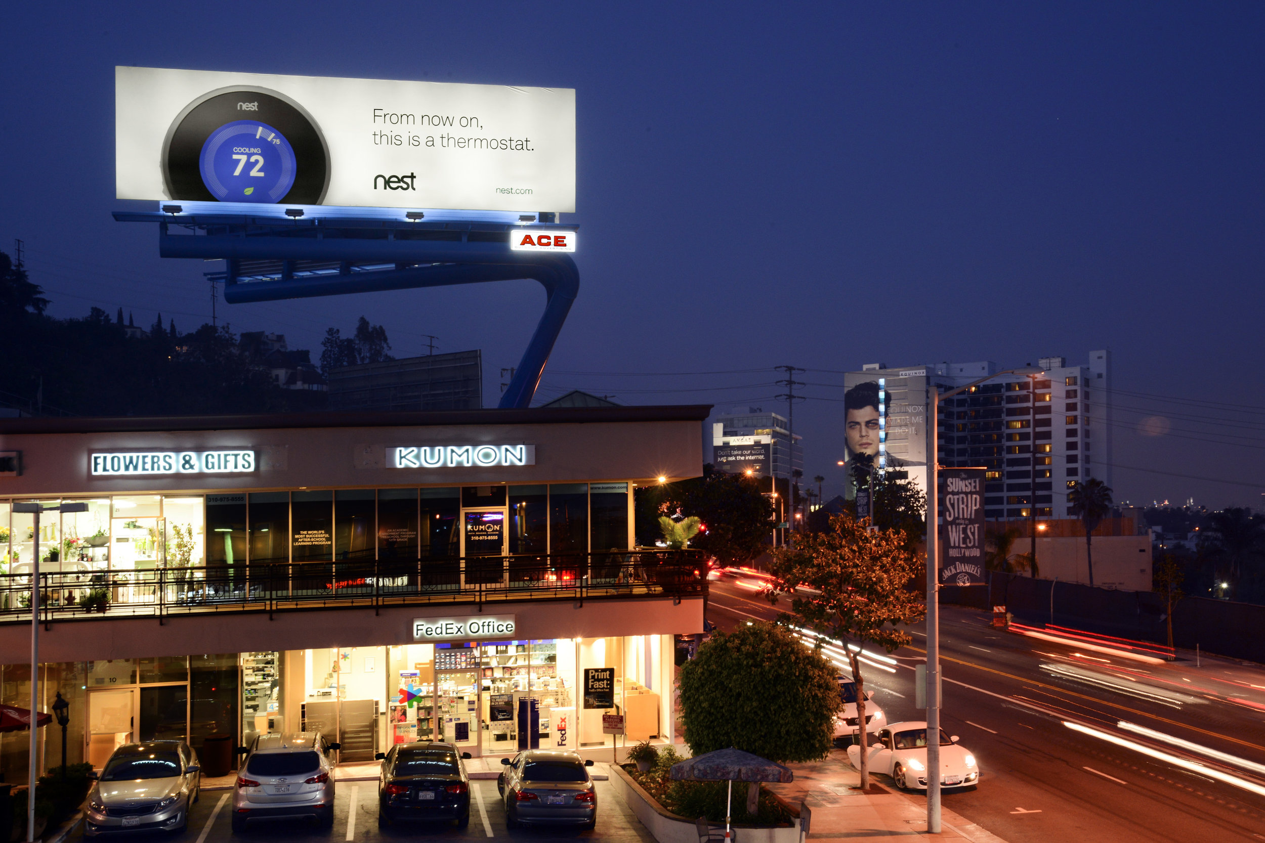 ace billboards unveiling -