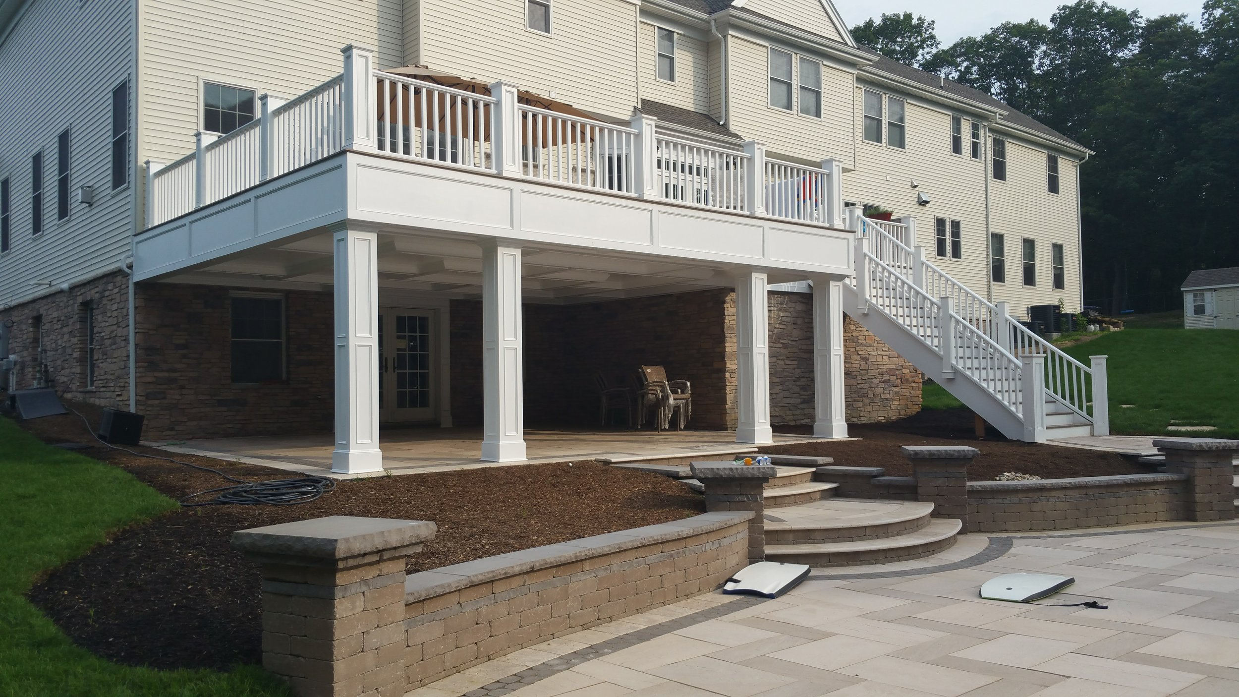 Rear Deck + Patio in Wall, NJ