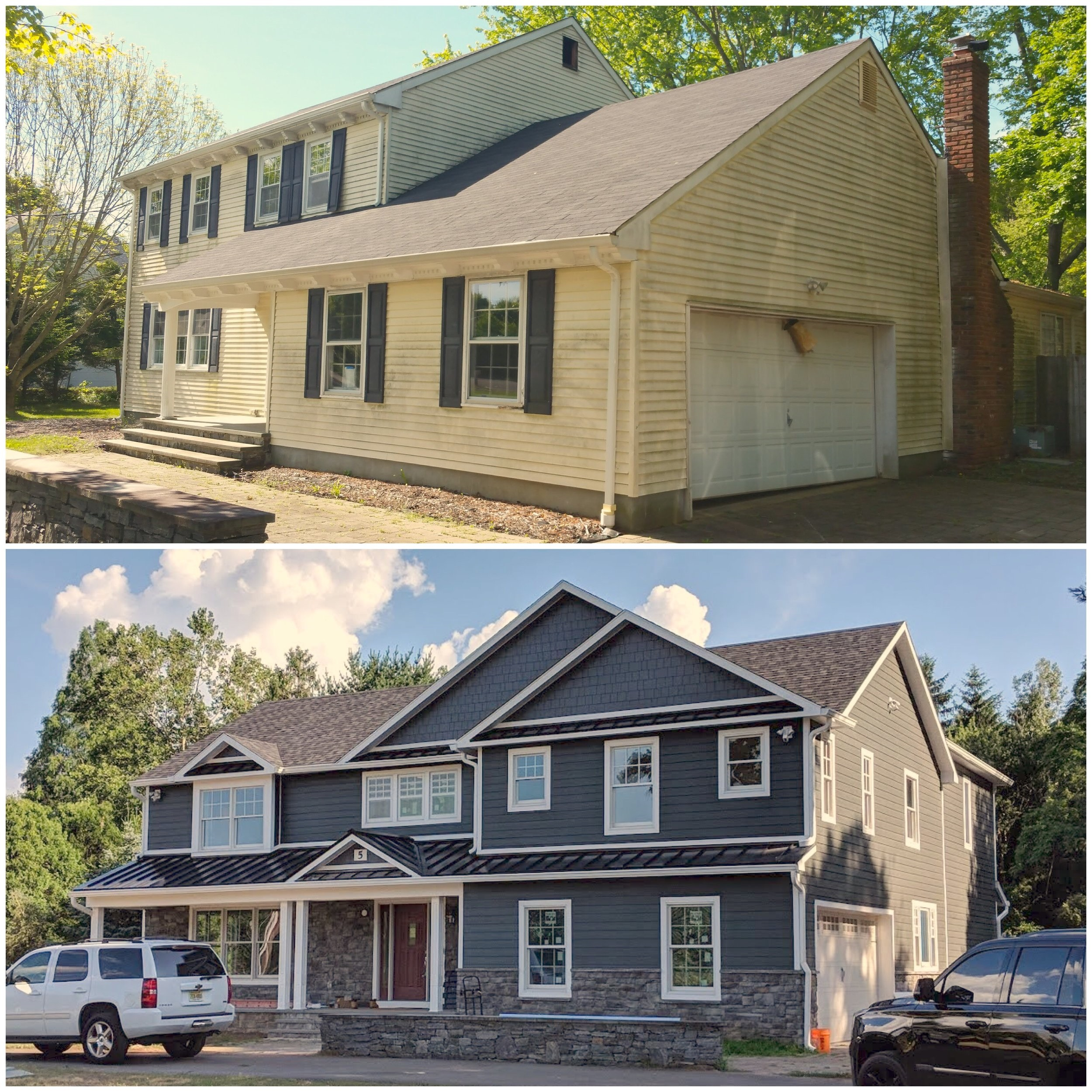 before + after in colts neck, nj