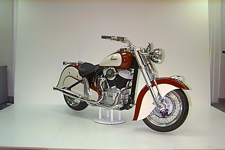 One of the handful of display bikes built by Eller. The plan was to set up a factory on an Indian reserve.