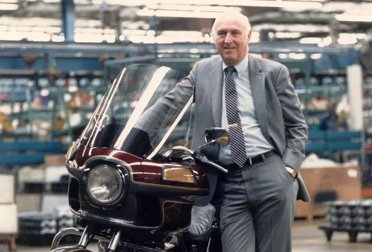 """The Harvard Business School lists Vaughn Beals as one of its """"Great American Business Leaders of the 20th Century"""". Harley-Davidson's ex-CEO and Chairman died April 19, at the age of 90."""