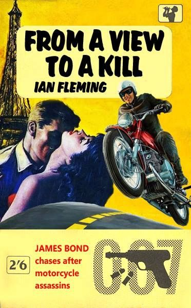 Spy novelist Ian Fleming worked in the British Naval Intelligence Division during WWII. He was involved in the creation and oversight of 30 Assault Unit – an elite commando group. The plot of  A View to a Kill  is fairly similar to some of the things that the commandos of 30 Assault Unit actually did.
