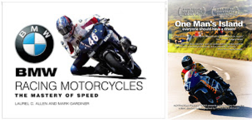 If you live in the U.S. I will send you as many BMW Racing Motorcycles books or One Man's Island DVDs as you want for $15 each, and I'll pay postage. Email me for deets.