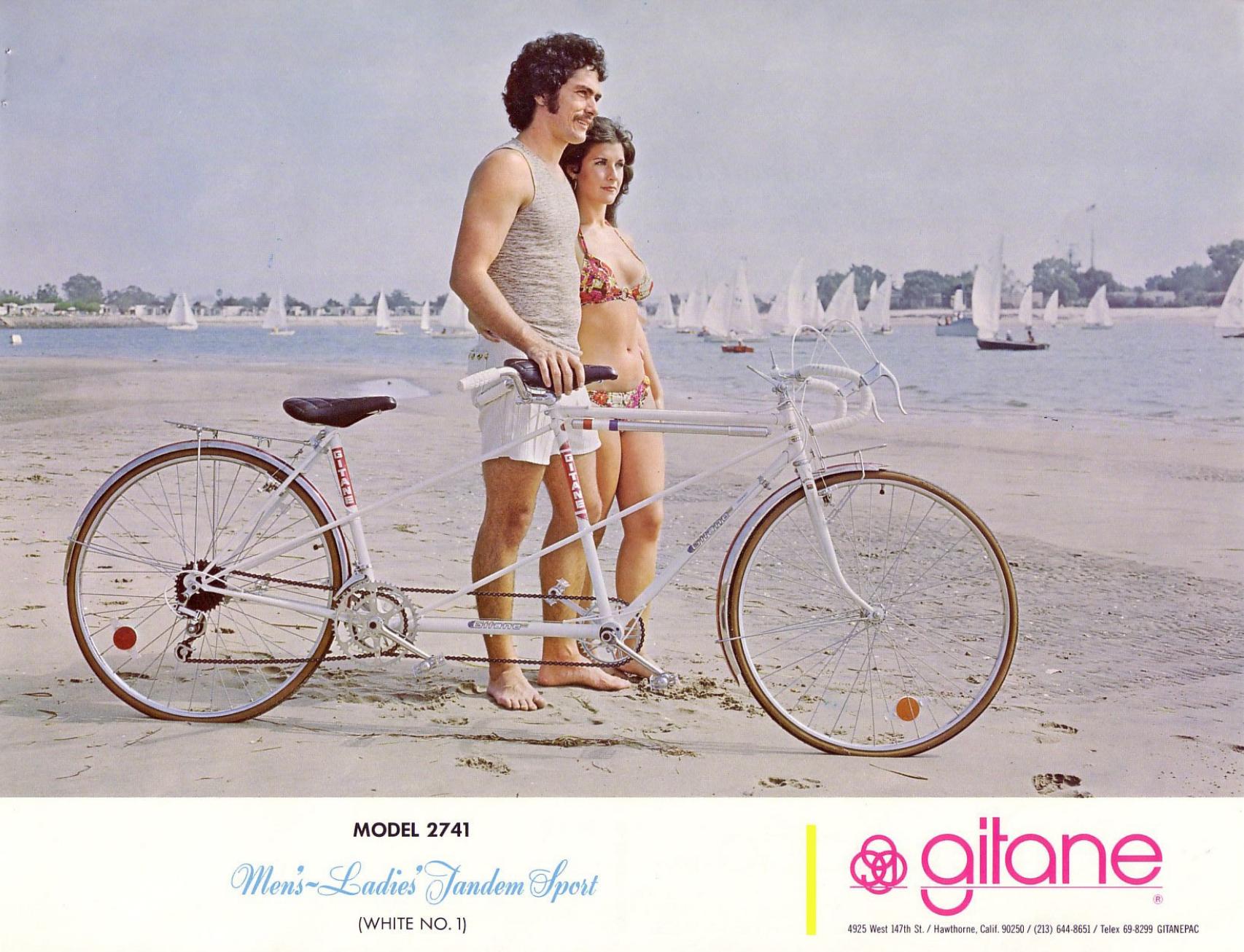 1975 Gitane Tandem Sport (White)