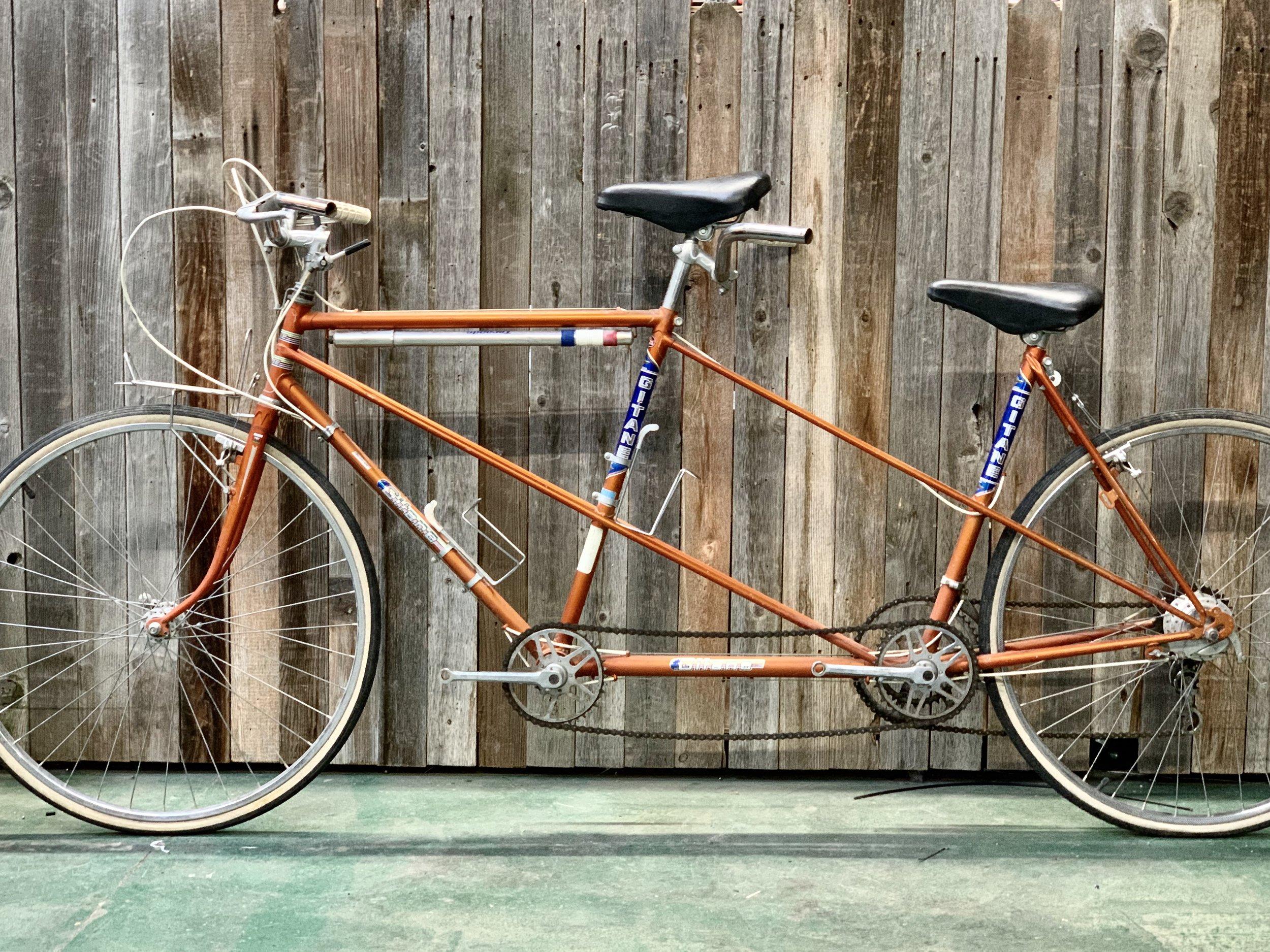 1975-ish Gitane Tandem Touring (Orange)