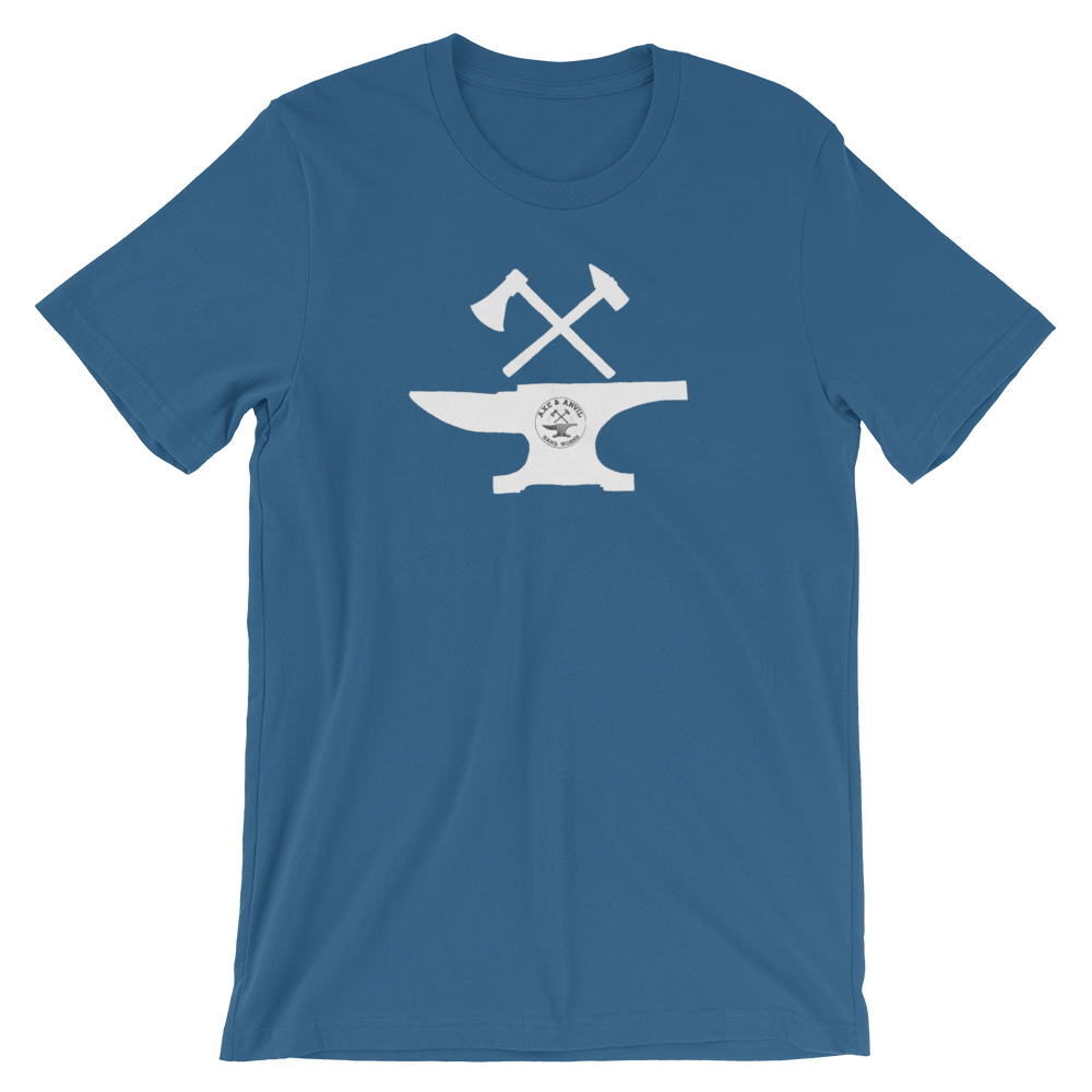 axe-and-anvil-logo-pic-large-no-background-solid-white-with-teeny-logo_mockup_Front_Wrinkled_Steel-Blue.png