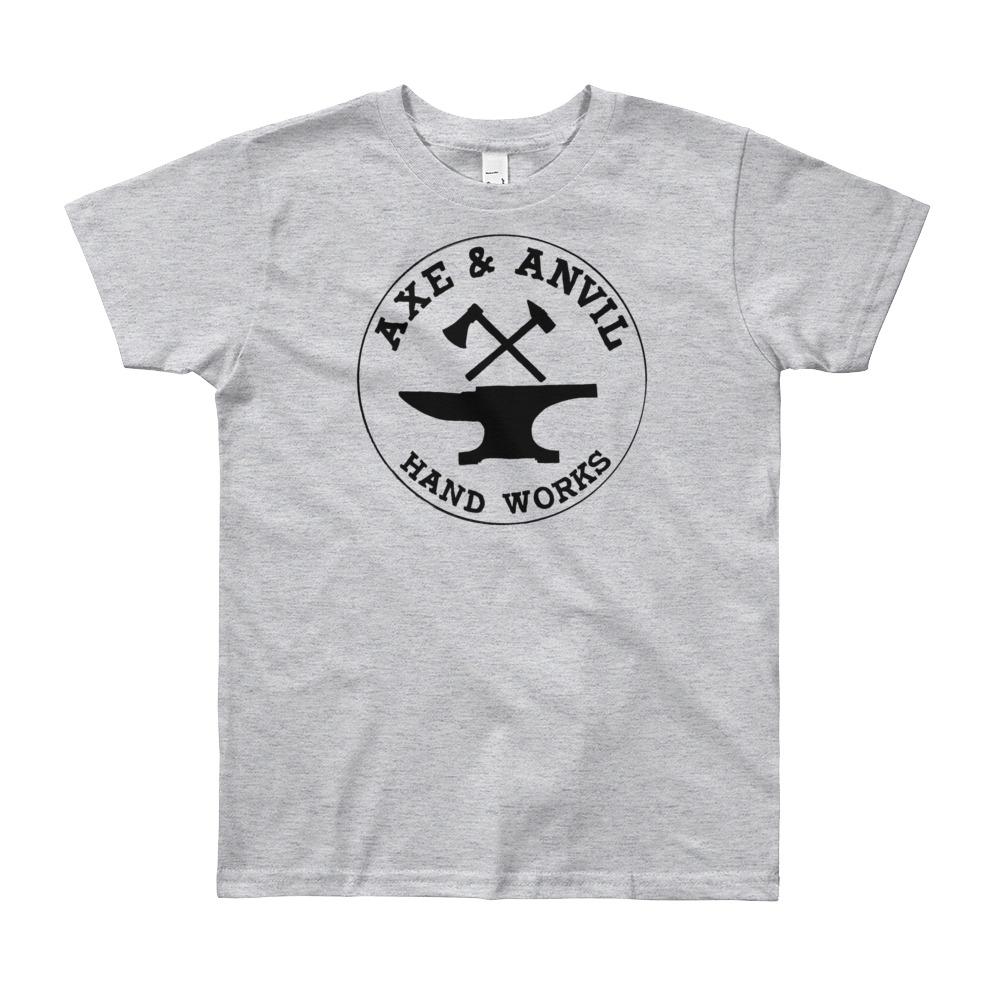 Axe and Anvil Youth T-Shirt - $25