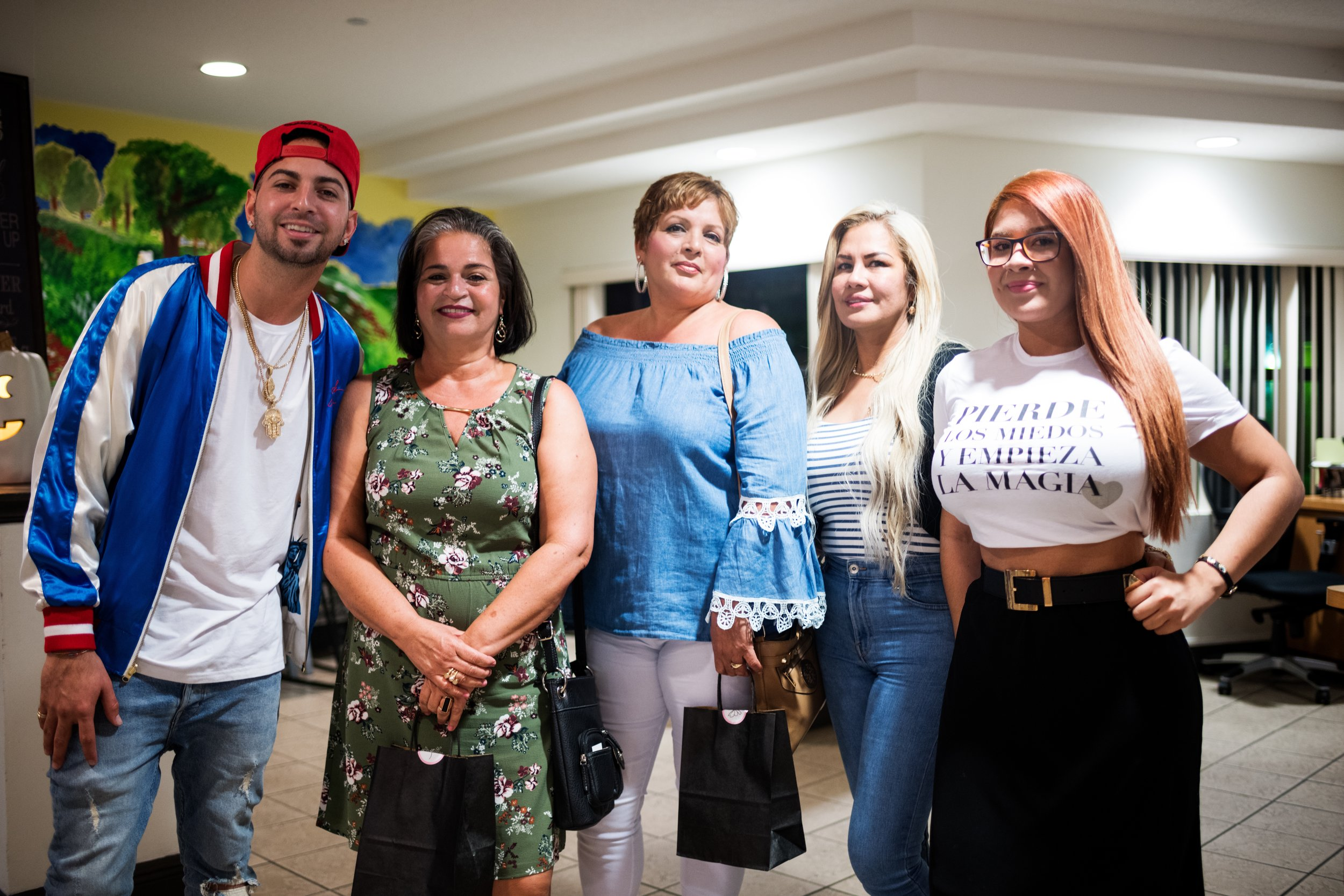 #SurvivorsSpeak with JQuiles and his mother and the women at The Lodge