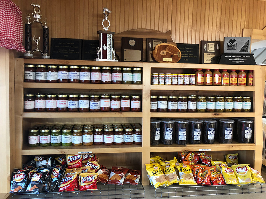 Robertson's chips and specialty items