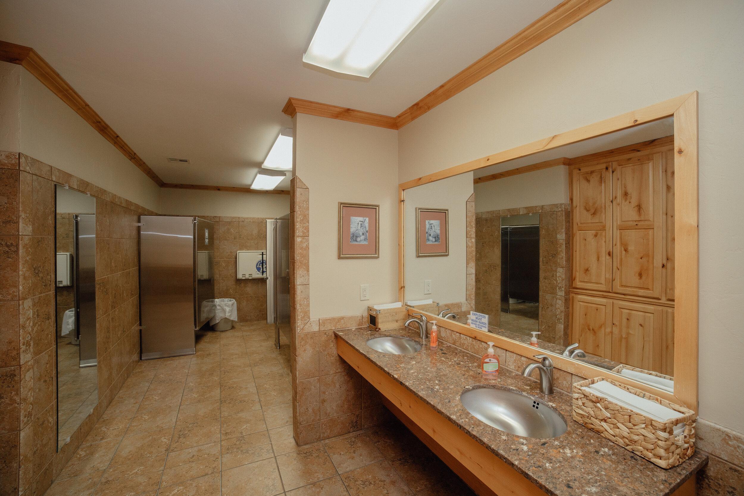 Nice Clean Restrooms