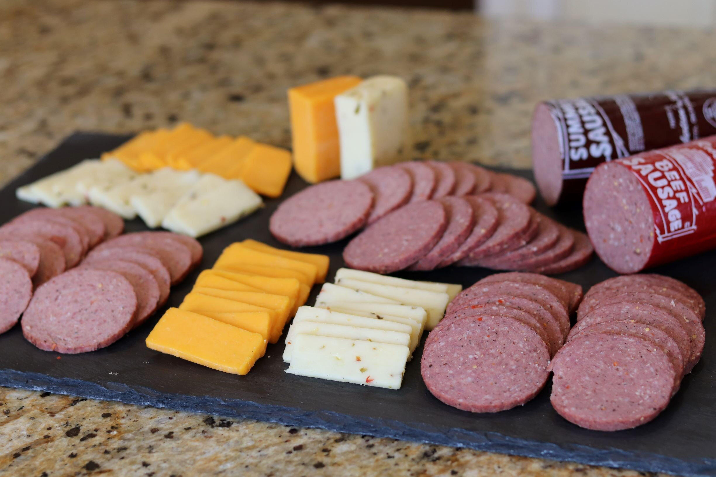 Robertson's Cooked Sausage and Smoked Cheese