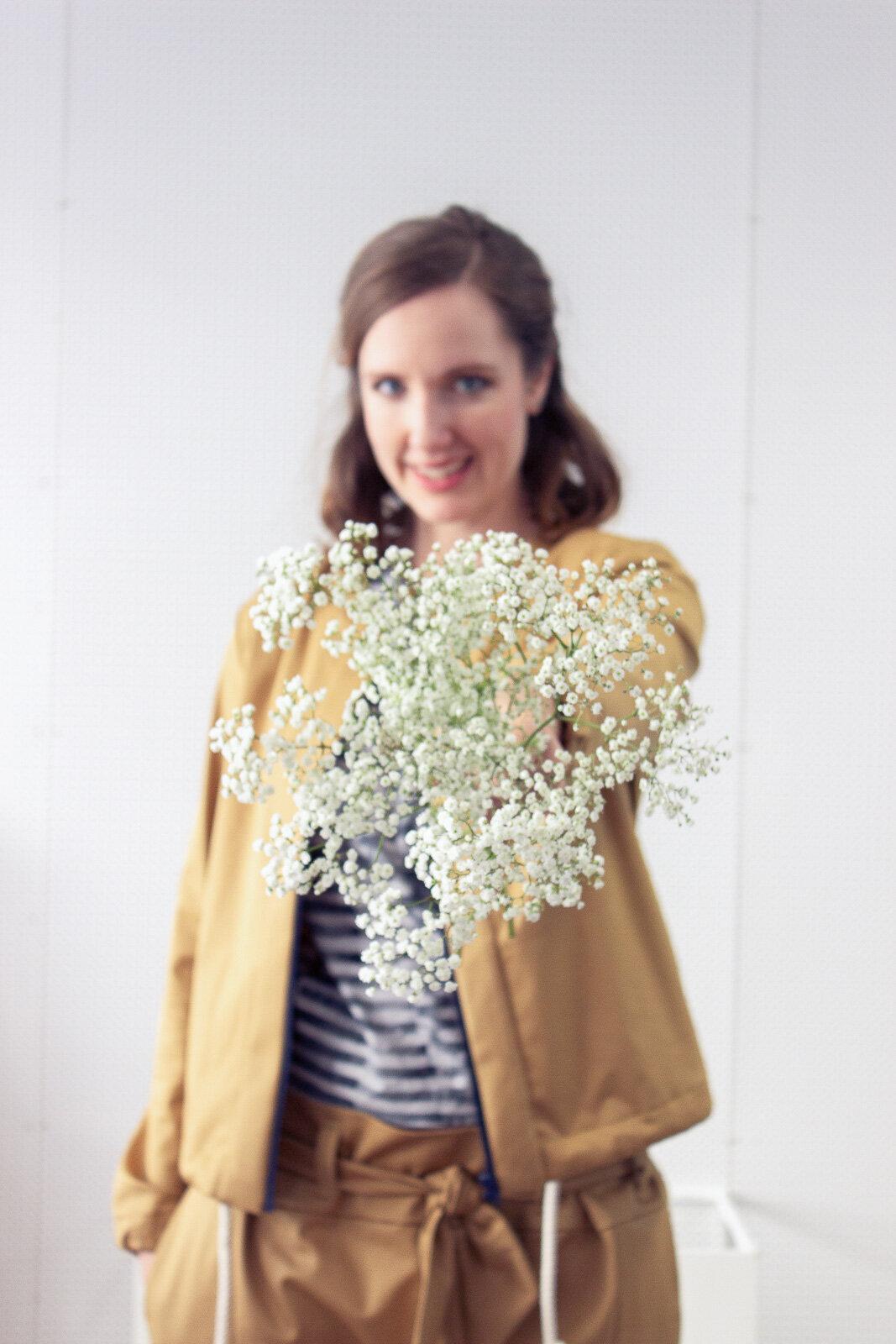 Schnittmuster Kollektion White Blossom