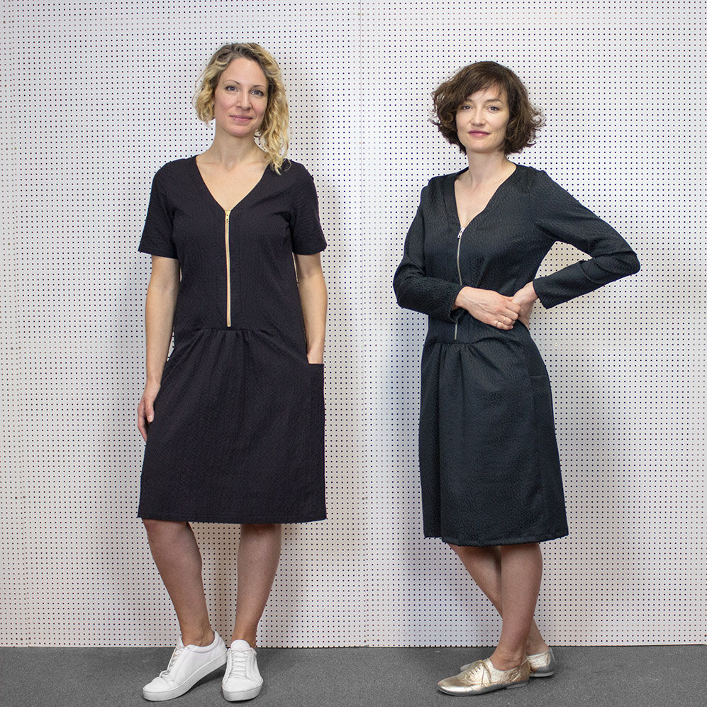 Schnittmuster Kleid Laura