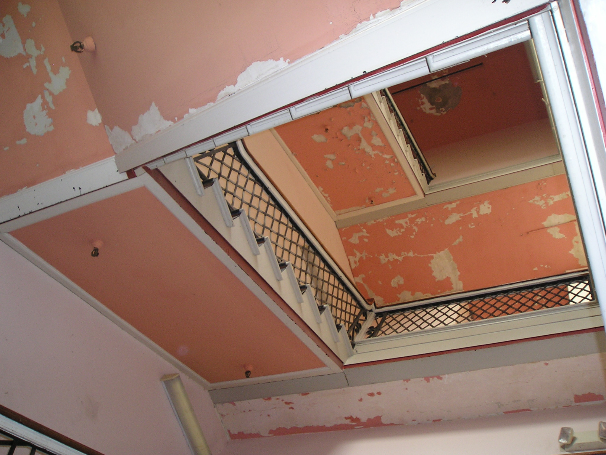 """""""The Hidden Staircase"""" before renovation"""