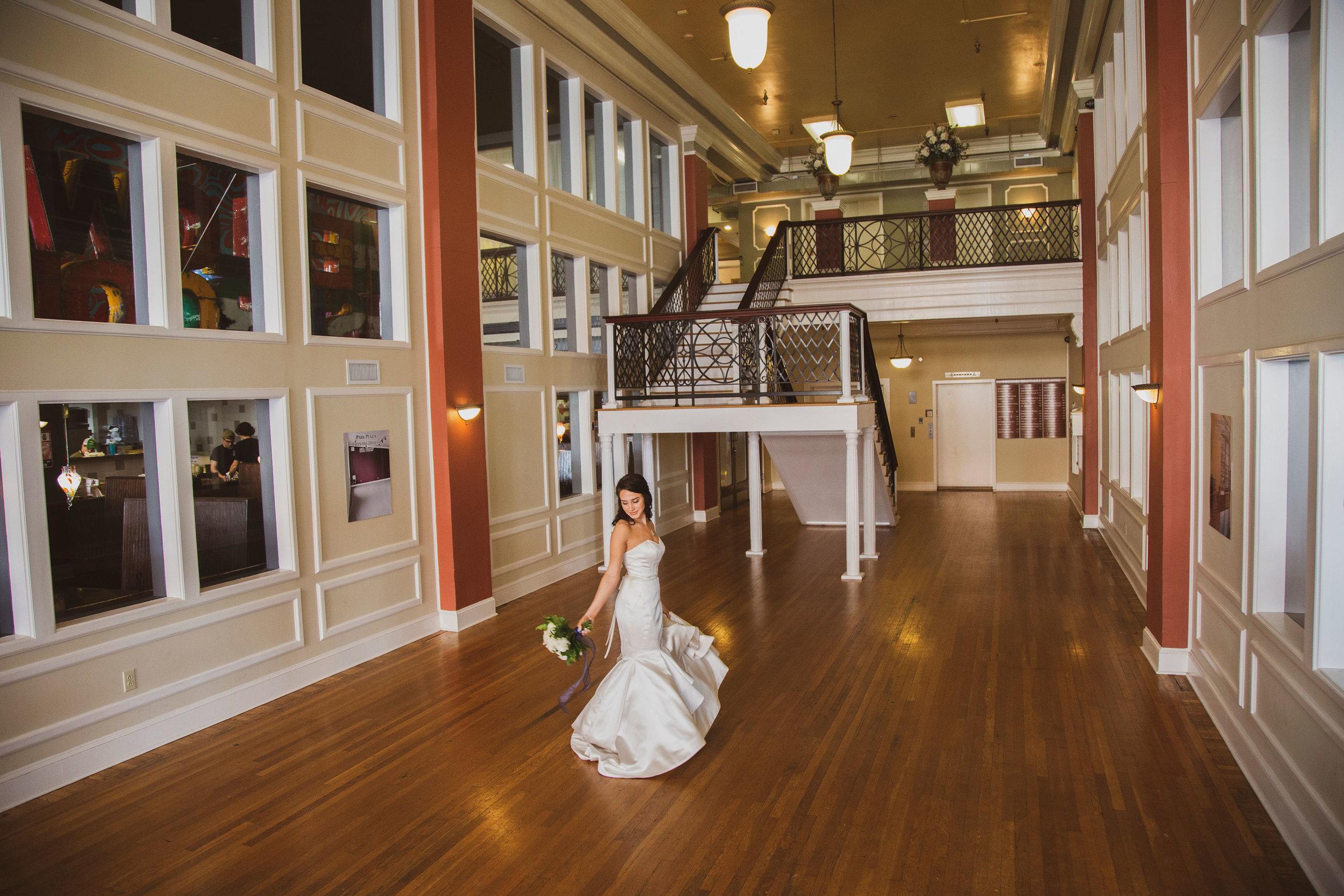The Mezzanine Grand Lobby Staircase