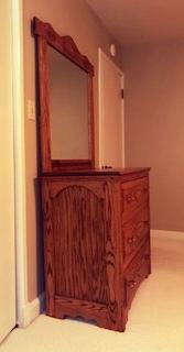 Oak Dresser -