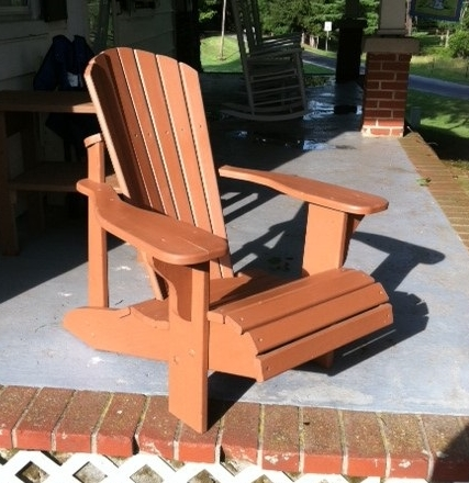 Adirondack Chair - Outdoor Adirondack chair. Perfect for lounging.