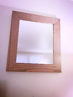 Oak frame mirror - Frames of all sizes are available.